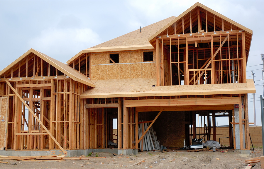 house-under-construction-picture-showing-wooden-framing-for-two-storey-home