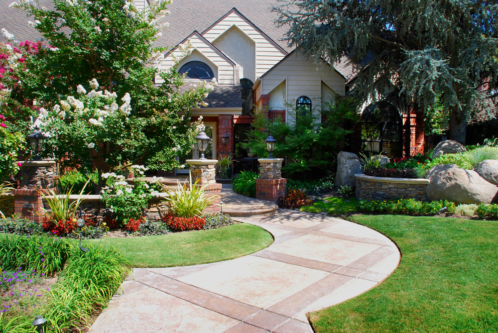 Landscaping Ideas Residential Homes : Residential landscaping project